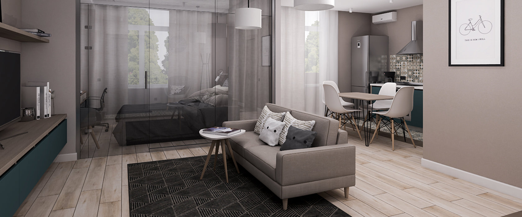 Двухместный диван Bruno - Фото 1 - Pufetto
