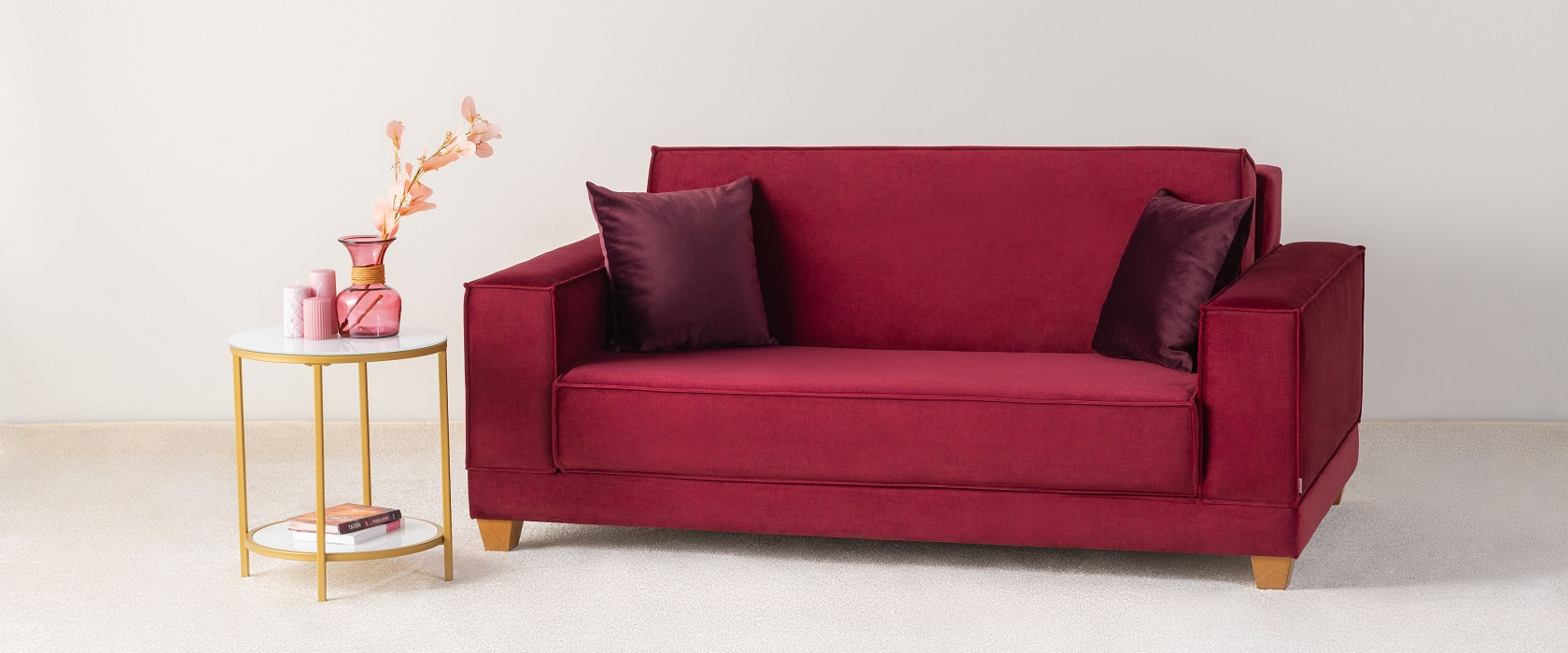 Двомісний диван Cosima - Фото 2 - Pufetto