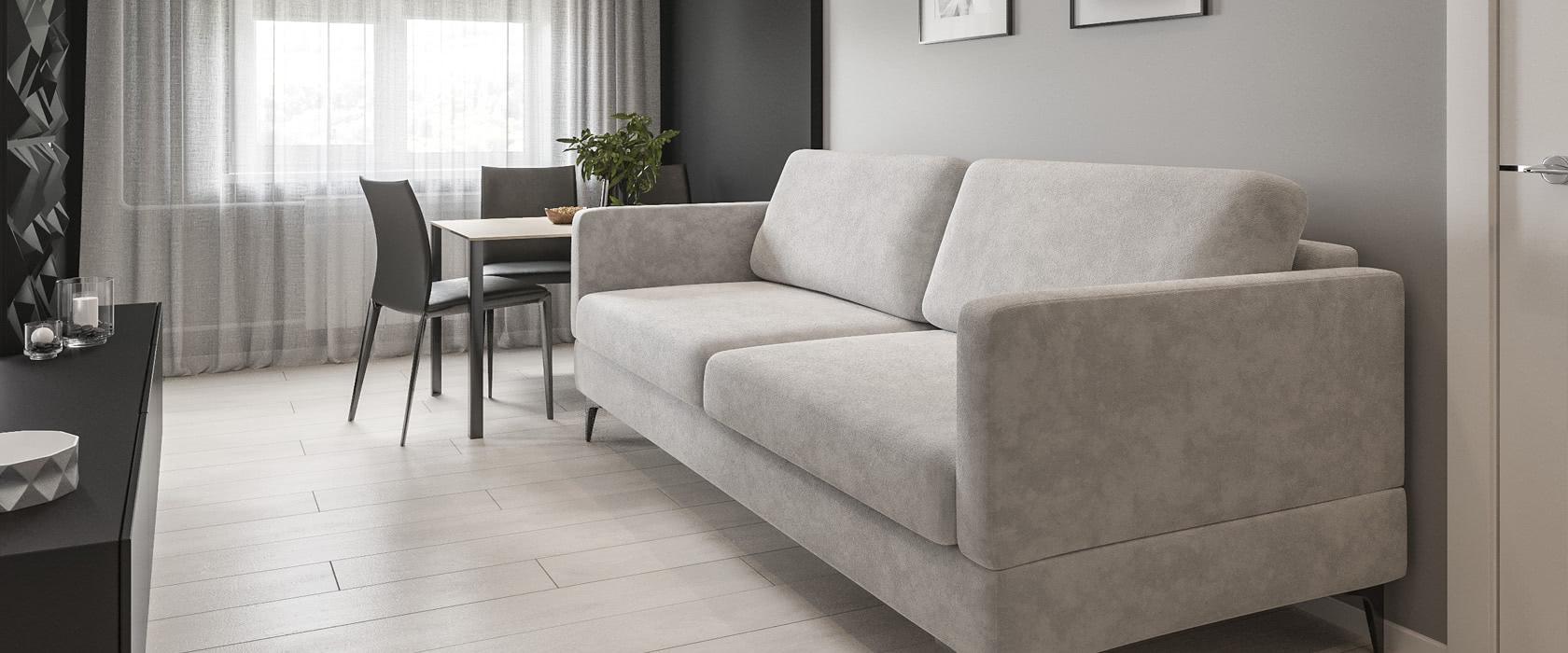 Тримісний диван Bruno Club - Фото 2 - Pufetto