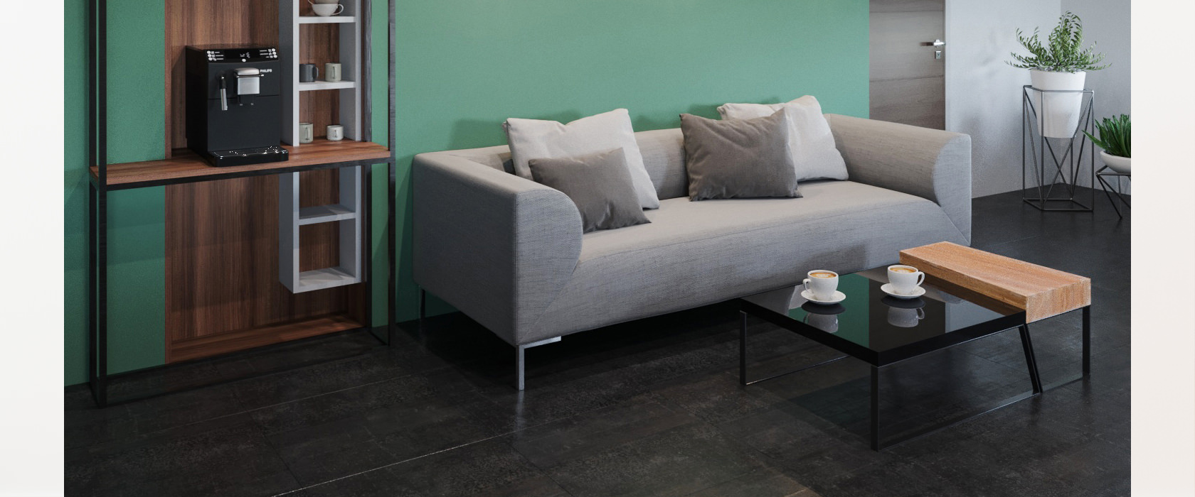 Тримісний диван Fernando - Фото 1 - Pufetto