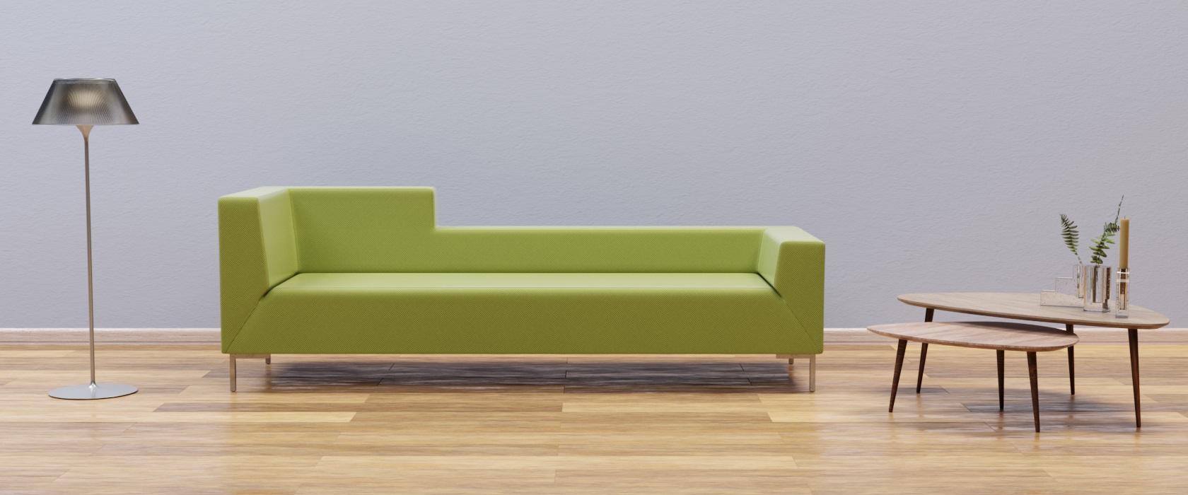 Трехместный диван Livorno Mix - Фото 2 - Pufetto