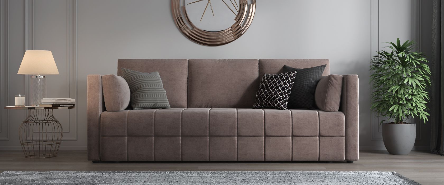 Трехместный диван Sofia - Фото 2 - Pufetto