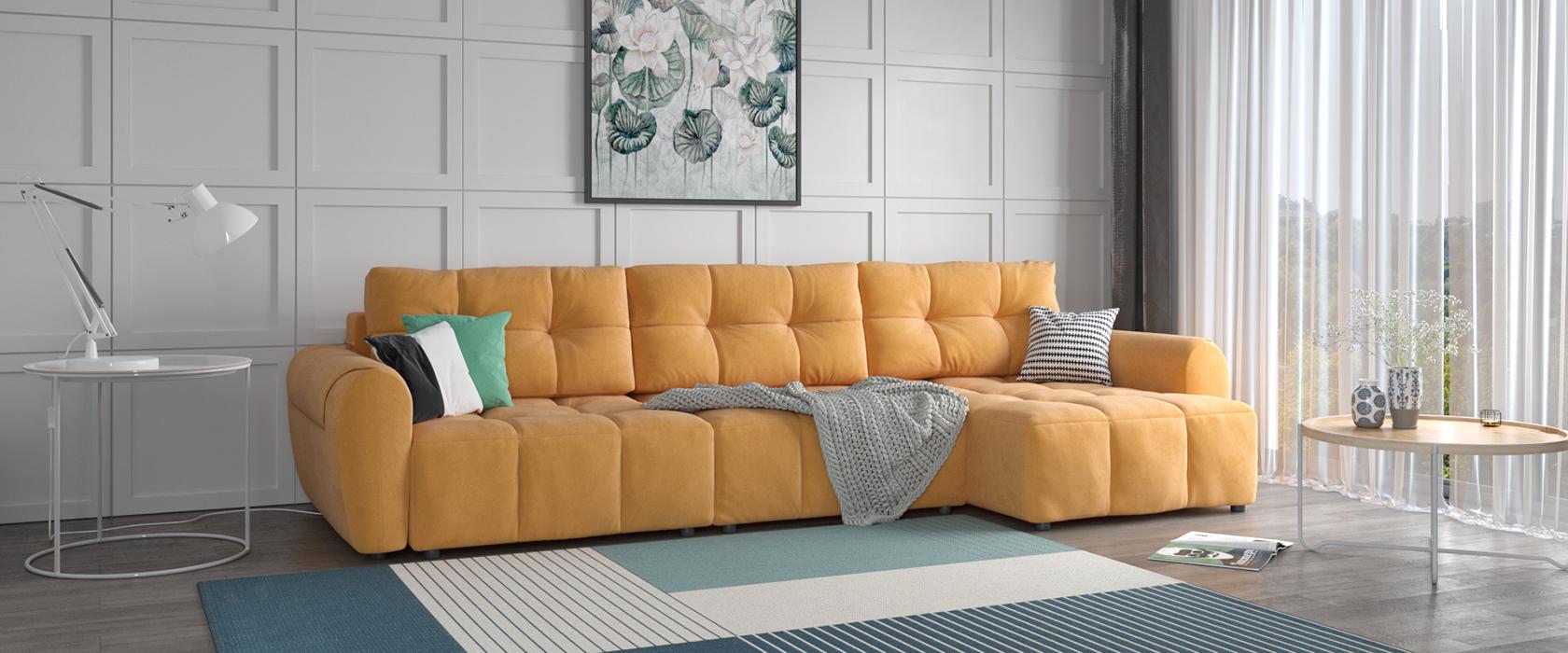 Угловой диван Bernardo - Фото 2 - Pufetto