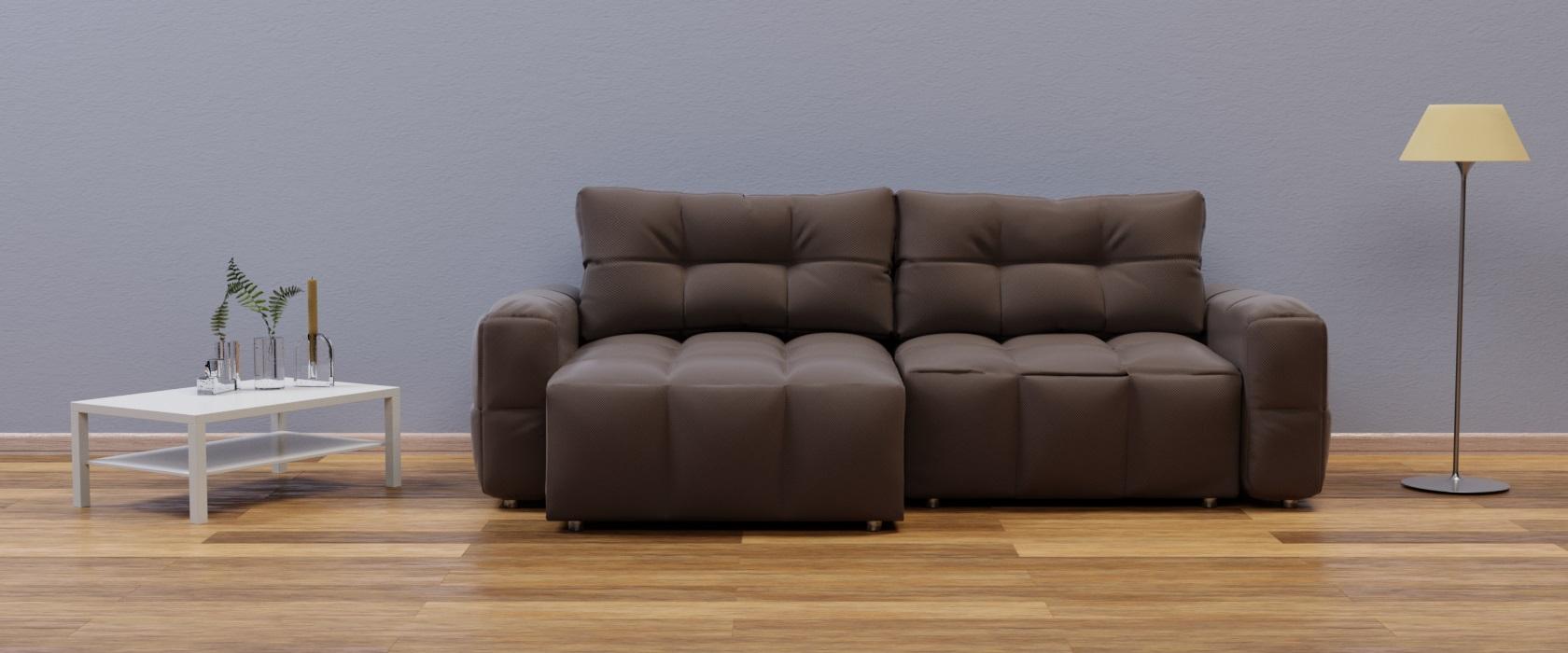 Кутовий диван Leonardo Chaise Mini - Фото 2 - Pufetto