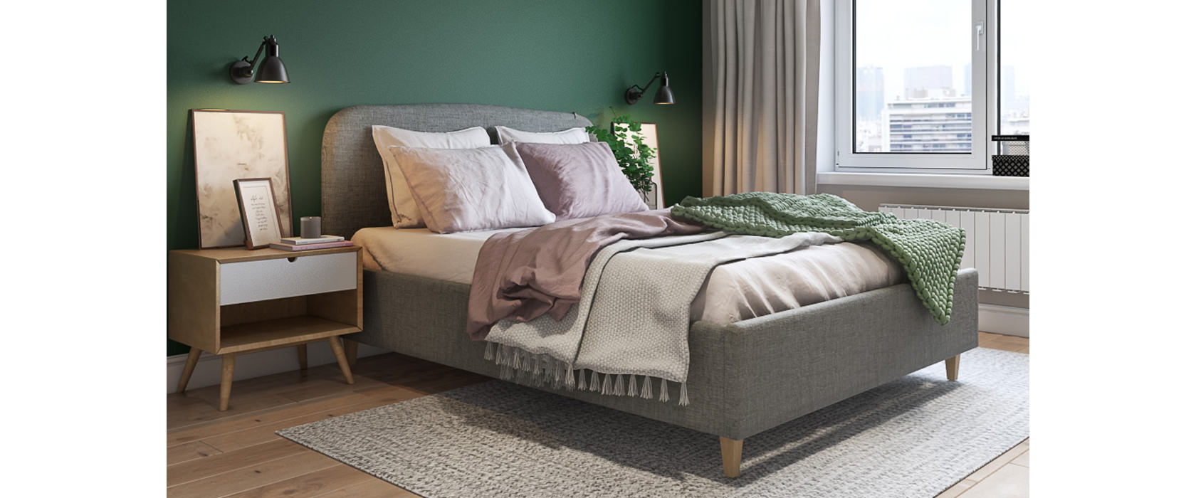 Кровать Adelina - Фото 2 - Pufetto