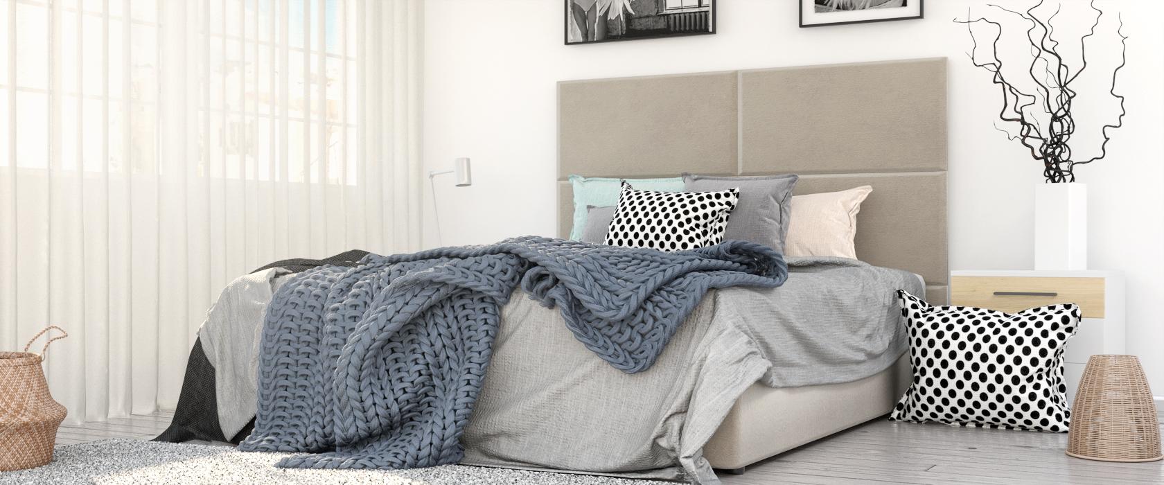 Кровать Foglia со стеновыми панелями - Фото 2 - Pufetto