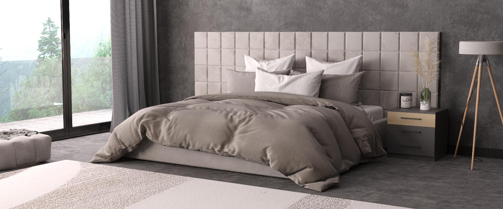 Кровать Piazza Plus со стеновыми панелями - Фото 2 - Pufetto