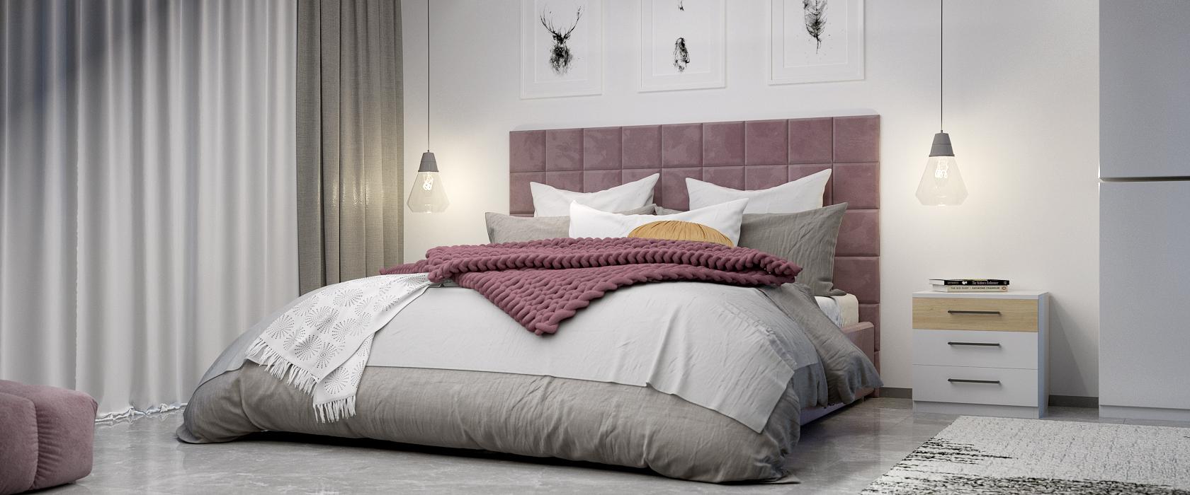 Кровать Piazza со стеновыми панелями - Фото 2 - Pufetto