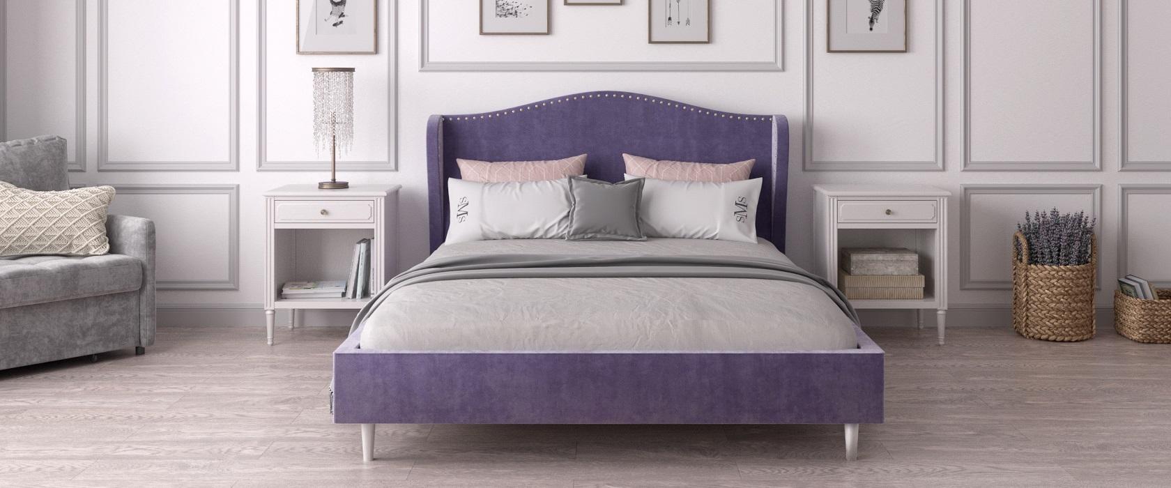 Ліжко Violetta - Фото 1 - Pufetto