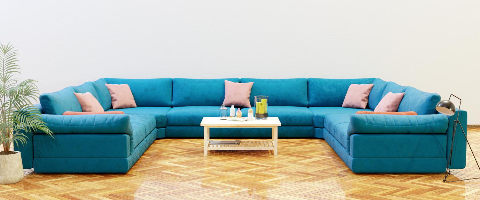 Модульный диван Claudia 440x355 - Фото 2 - Pufetto