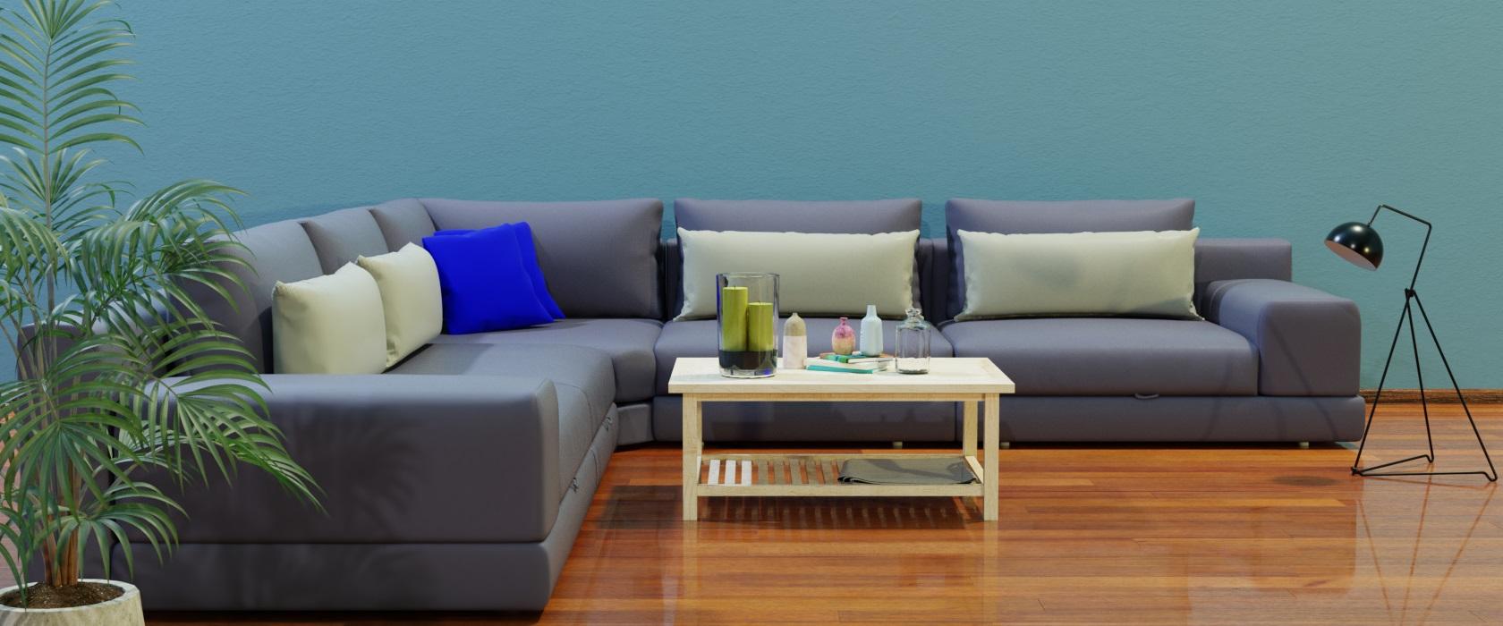 Модульный диван Dario 355x355 - Фото 2 - Pufetto
