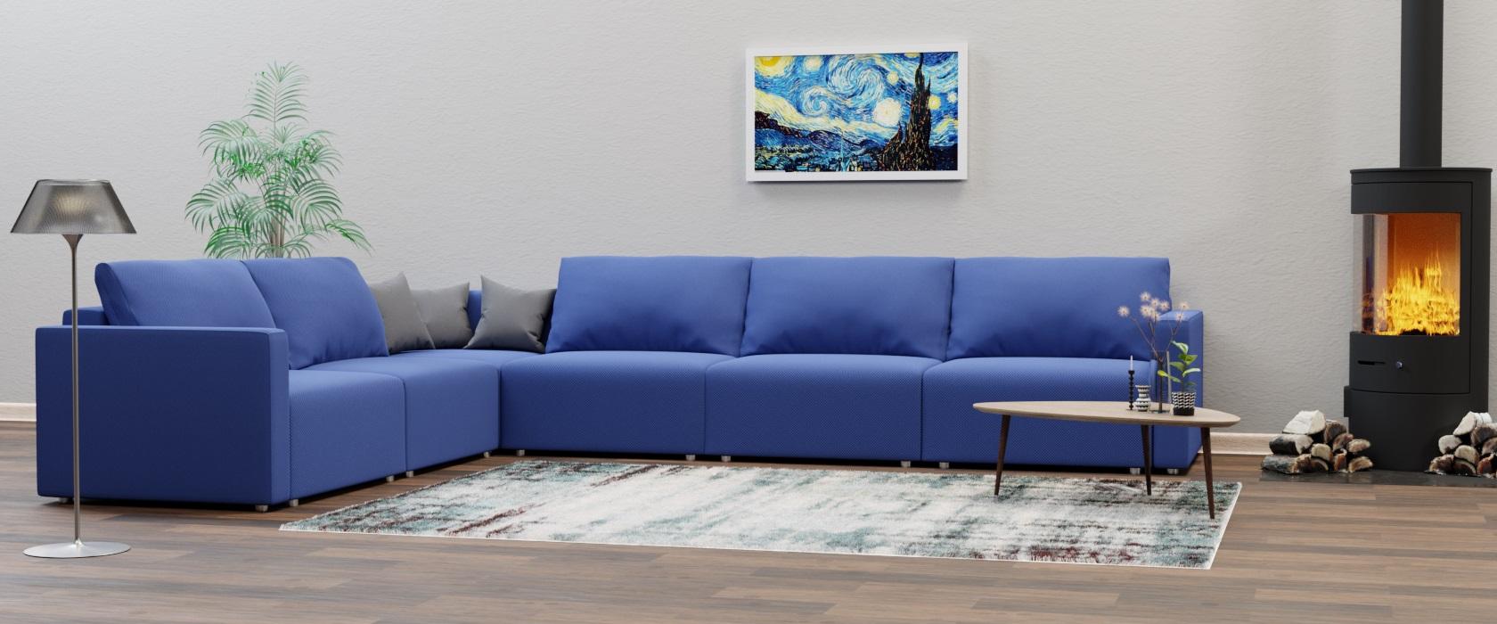 Модульный диван Greta 417x317 - Фото 2 - Pufetto