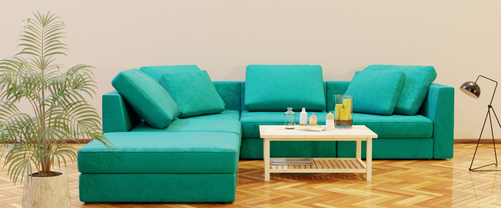 Модульный диван Lisboa 306x288 - Фото 2 - Pufetto