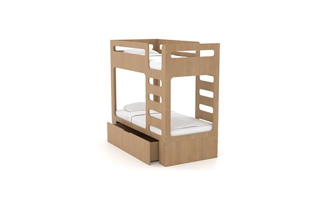 Двухъярусная кровать детская Cubed Box