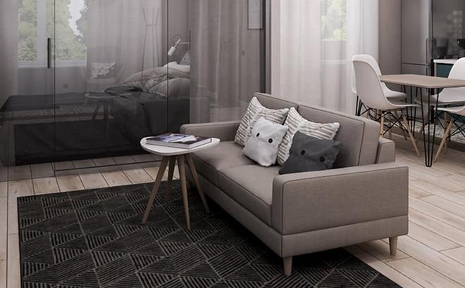 Двухместный диван Bruno в интерьере