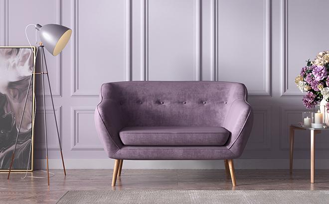 Двомісній диван Callisto в інтер'єрі