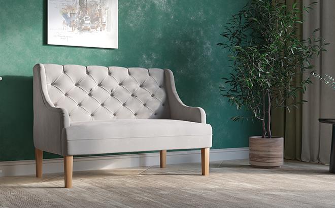 Двухместный диван Ennio в интерьере