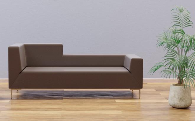 Двомісній диван Livorno Mix в інтер'єрі