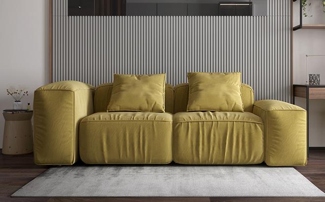 Тримісний диван Abele Mix в інтер'єрі