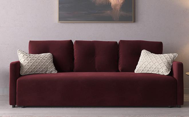 Трехместный диван Adriano в интерьере