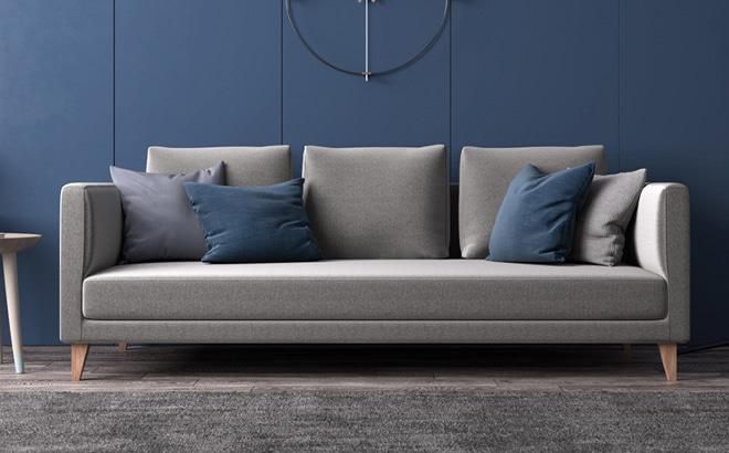 Трехместный диван Augusto в интерьере