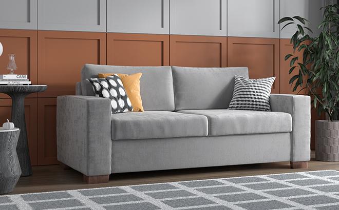 Трехместный диван Bella в интерьере