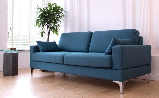 Трехместный диван Bruno в интерьере