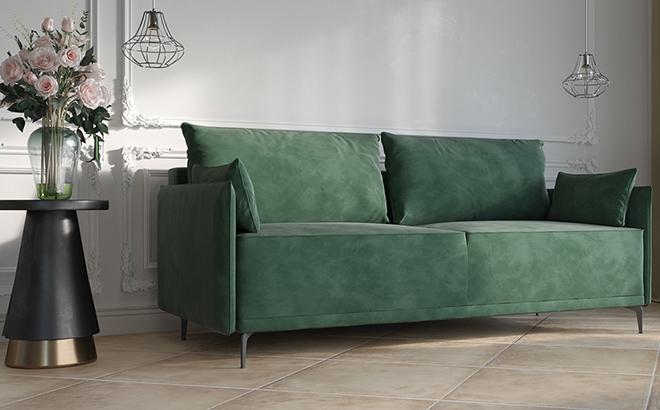 Тримісний диван Carla в інтер'єрі
