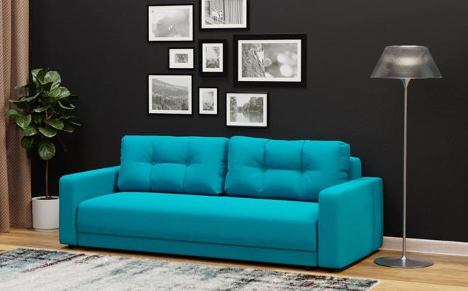 Трехместный диван Famiglia в интерьере