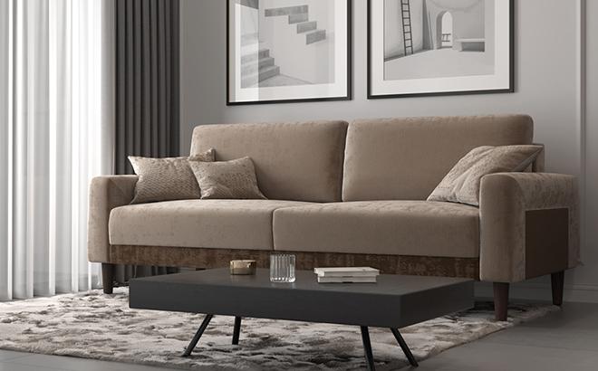 Трехместный диван Fredo в интерьере
