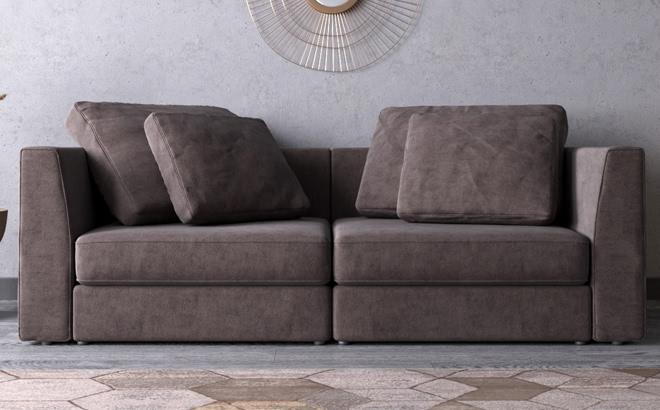 Трехместный диван Lisboa в интерьере