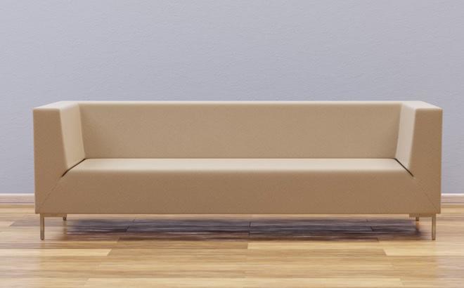 Тримісний диван Livorno Club в інтер'єрі