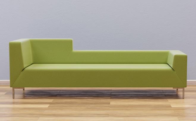 Тримісний диван Livorno Mix в інтер'єрі