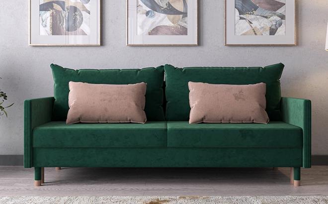 Трехместный диван Martino в интерьере