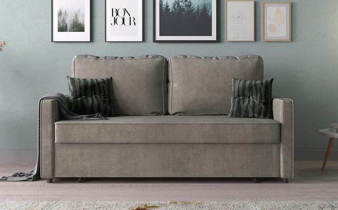 Тримісний диван Mattone в інтер'єрі
