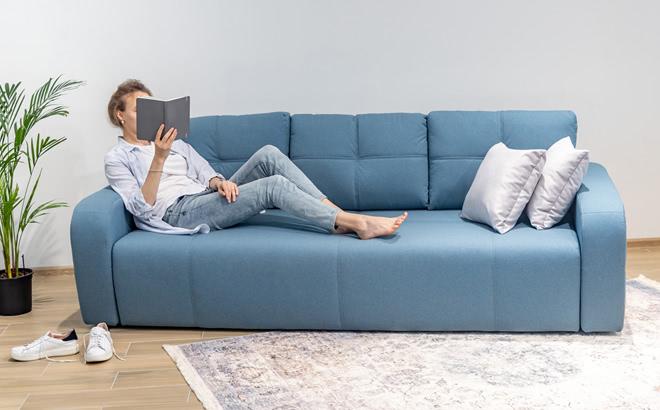 Трехместный диван Renata в интерьере