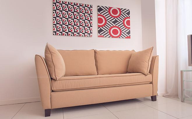 Трехместный диван Stefano в интерьере