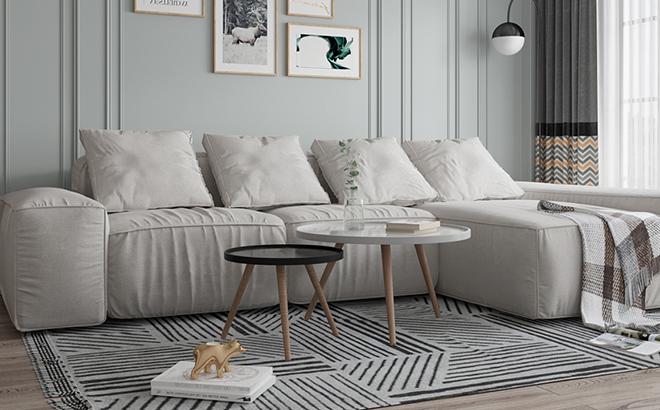 Угловой диван Abele Classic в интерьере