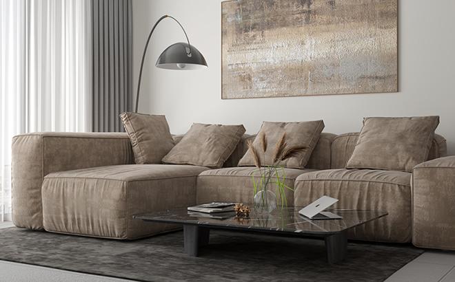 Угловой диван Abele Mix в интерьере
