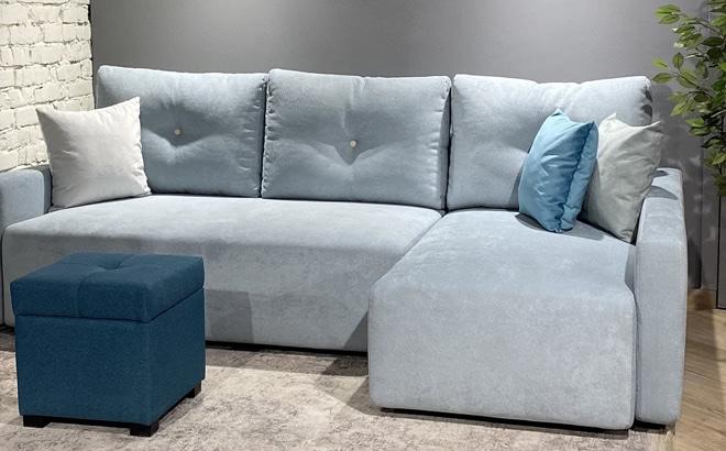 Угловой диван Adriano в интерьере