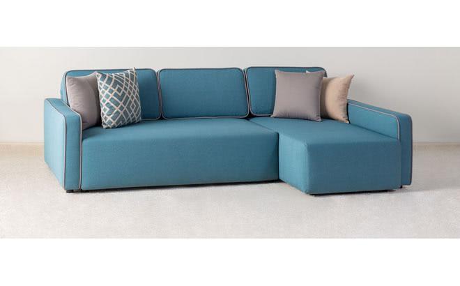 Угловой диван Alonzo в интерьере