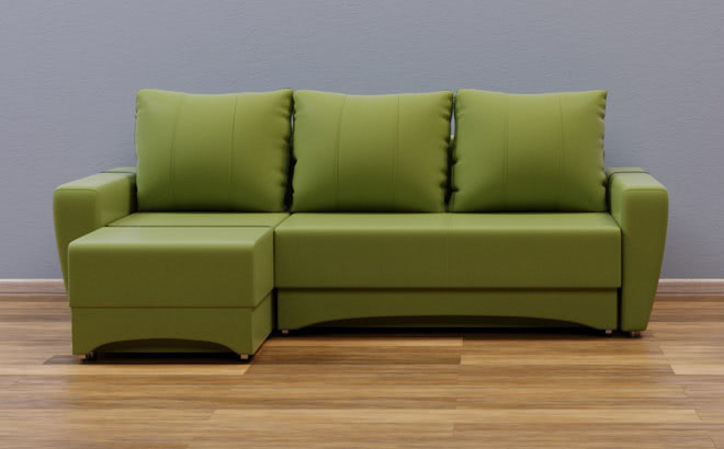 Угловой диван Andrea в интерьере