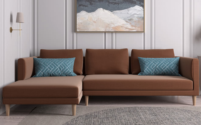 Угловой диван Augusto в интерьере