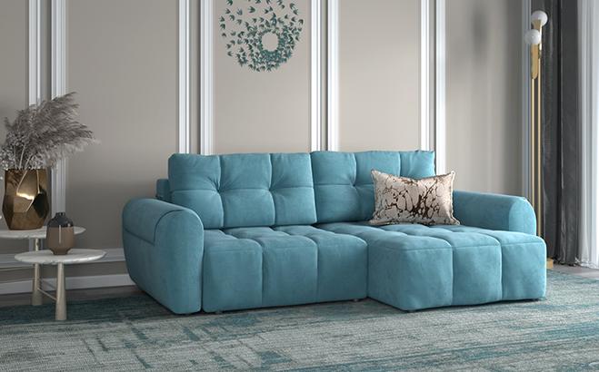 Кутовий диван Bernardo Mini в інтер'єрі