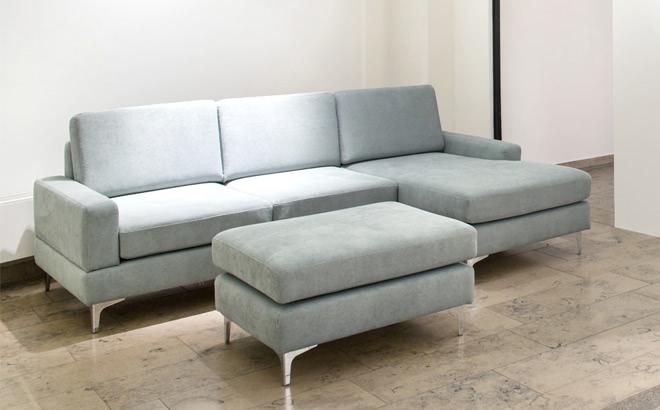 Угловой диван Bruno в интерьере