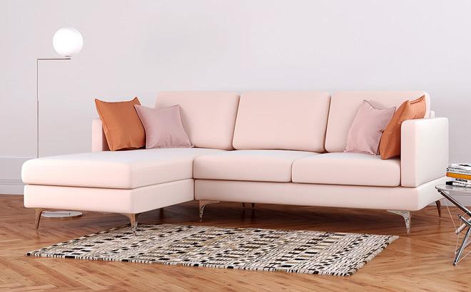 Угловой диван Bruno Club в интерьере