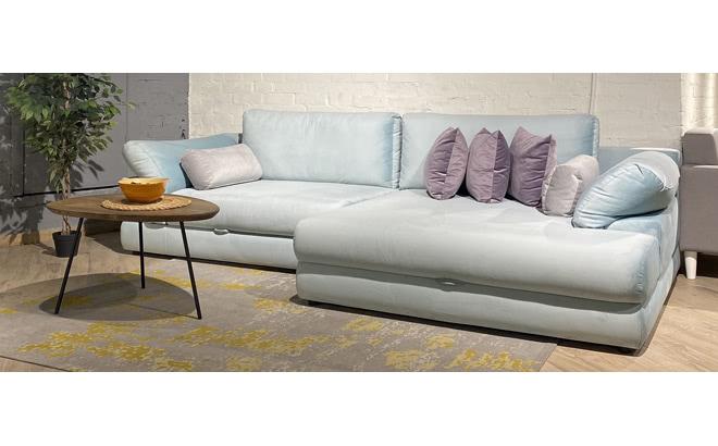 Угловой диван Claudia в интерьере