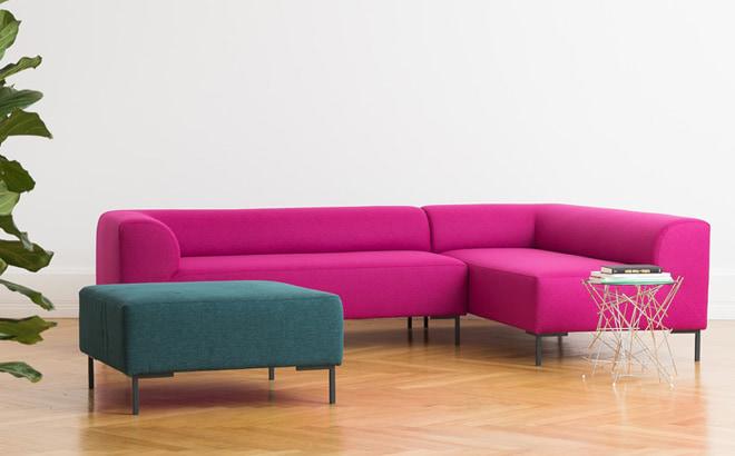 Кутовий диван Fernando в інтер'єрі