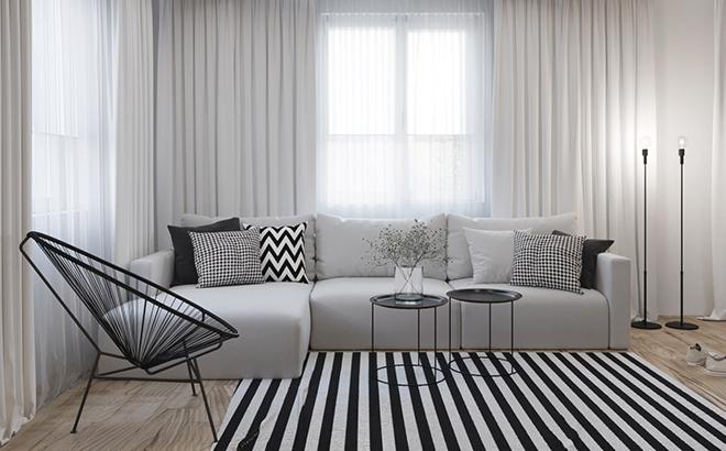 Угловой диван Greta в интерьере