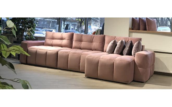 Угловой диван Leonardo в интерьере